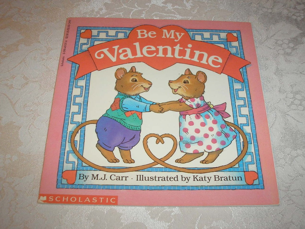 Be My Valentine M.J. Carr Good Softcover