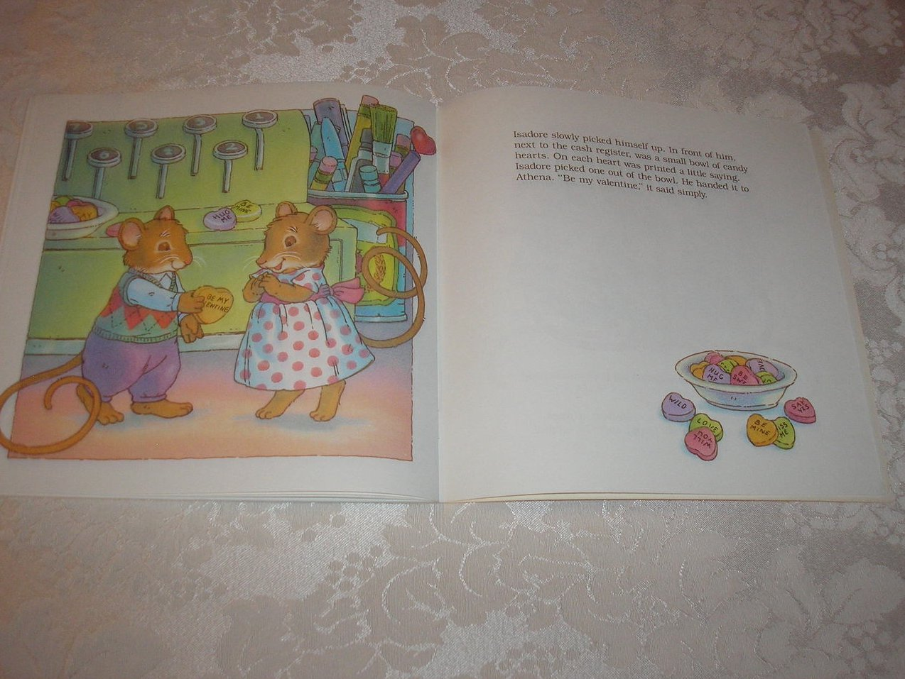 Image 4 of Be My Valentine M.J. Carr Good Softcover