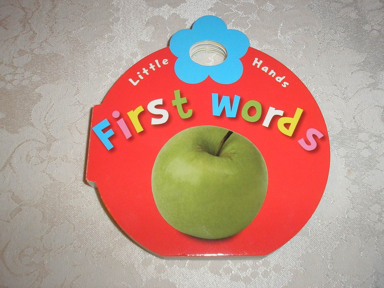 First Words Little Hands brand new shaped board book