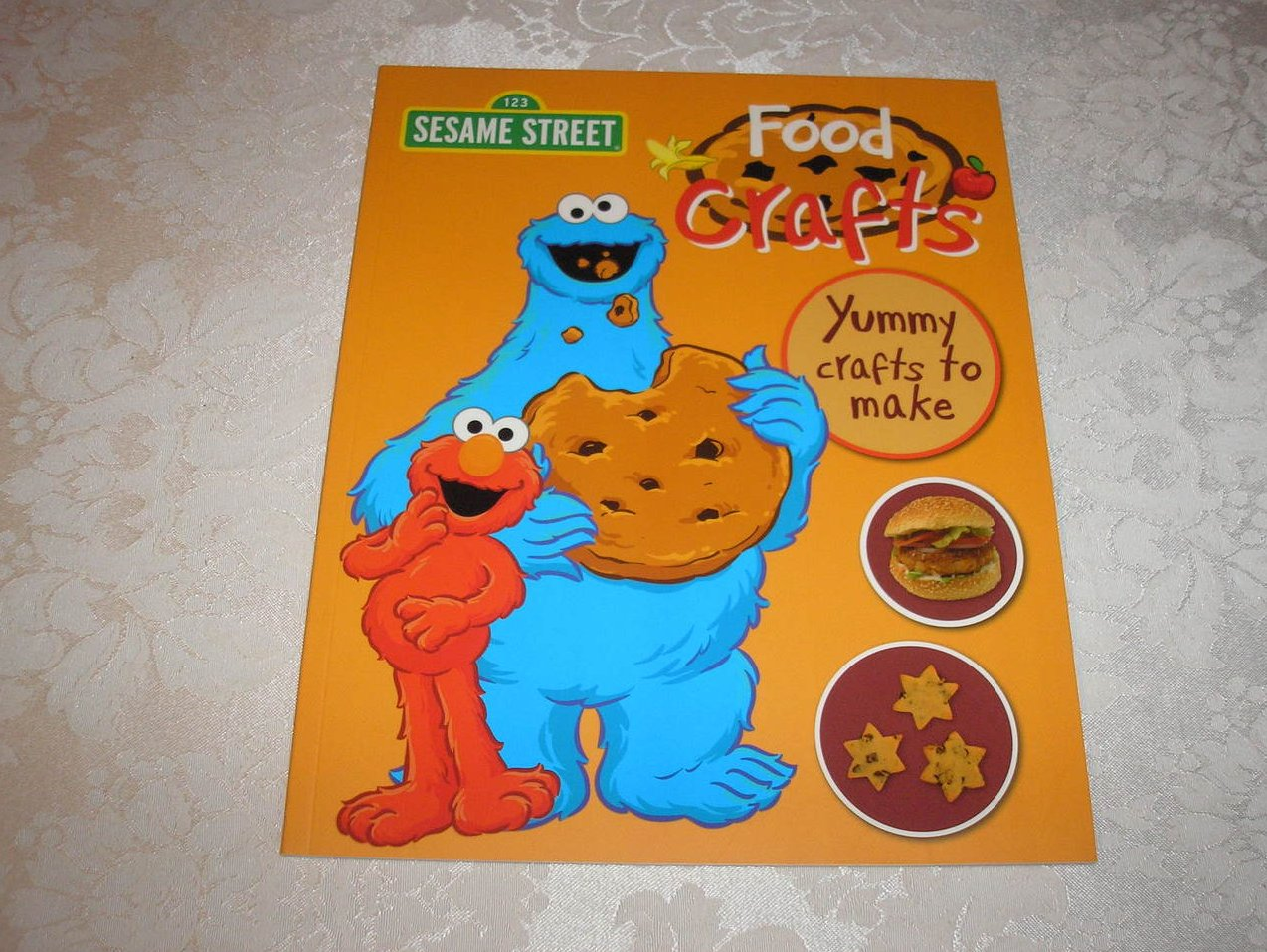 Sesame Street Food Crafts brand new sc