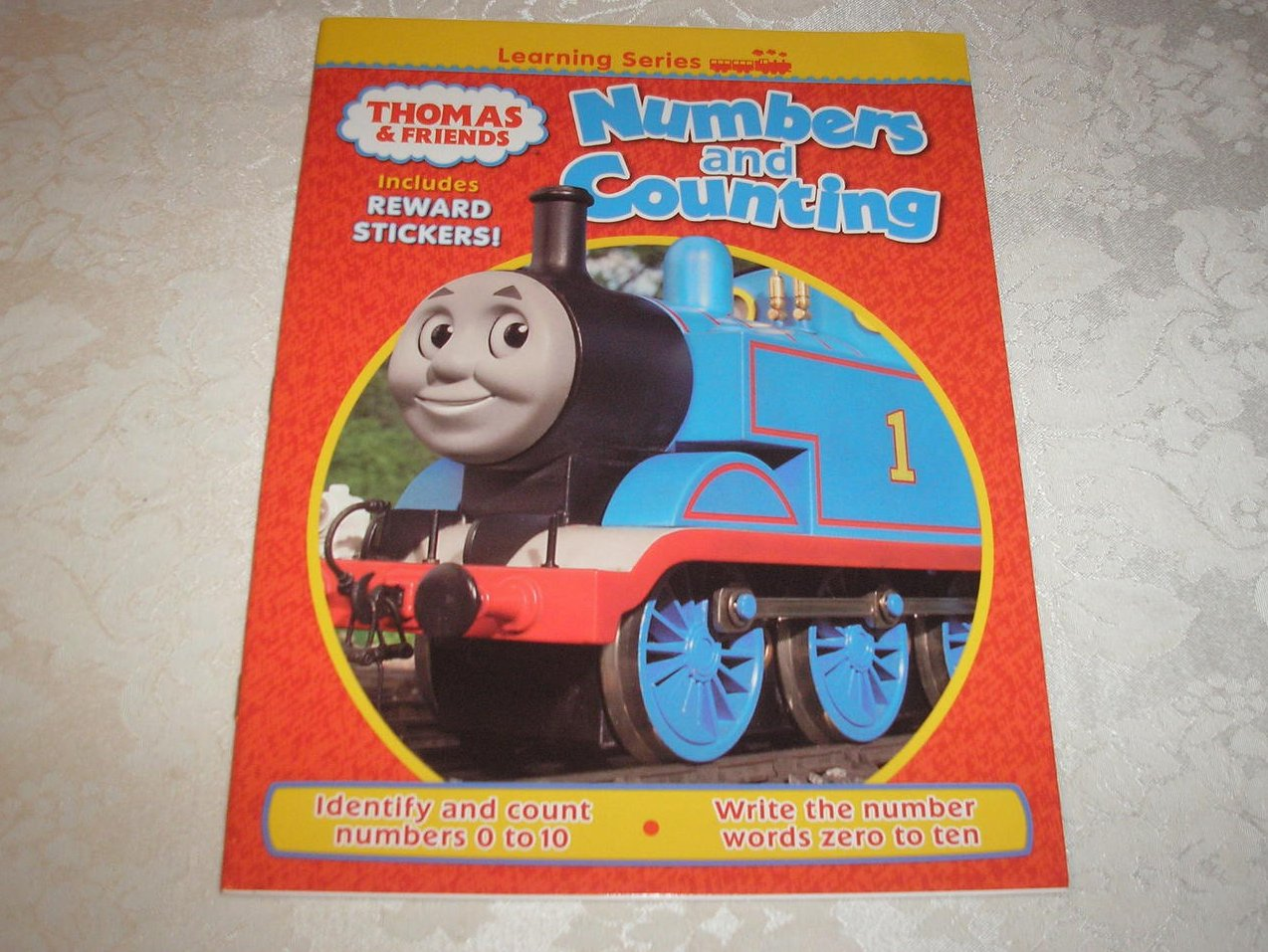 Thomas & Friends Numbers and Counting with stickers brand new activity sc