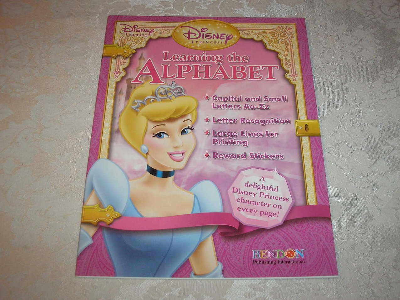 Disney Princess Learning the Alphabet with stickers brand new activity sc