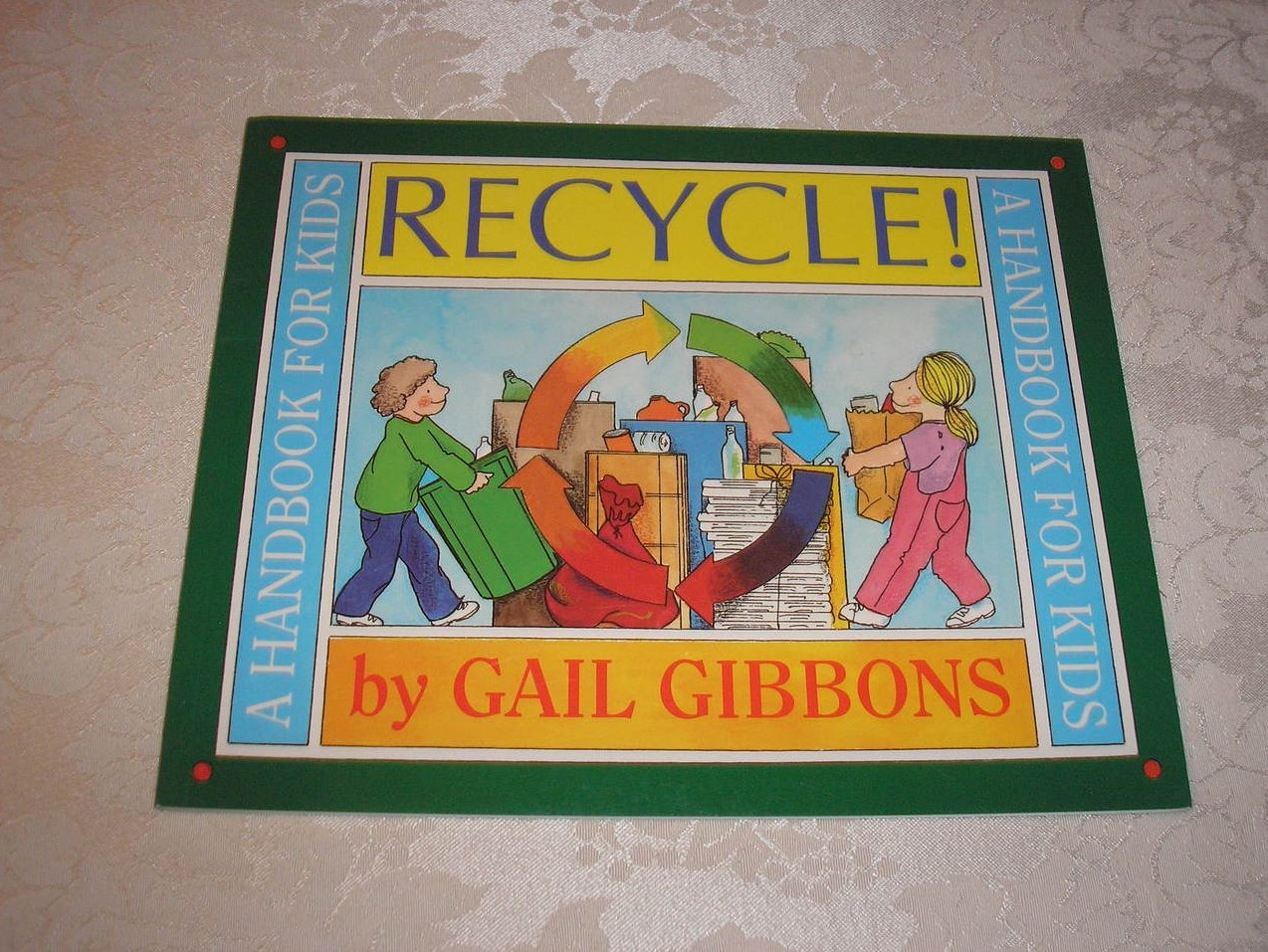 Recycle! Gail Gibbons brand new sc