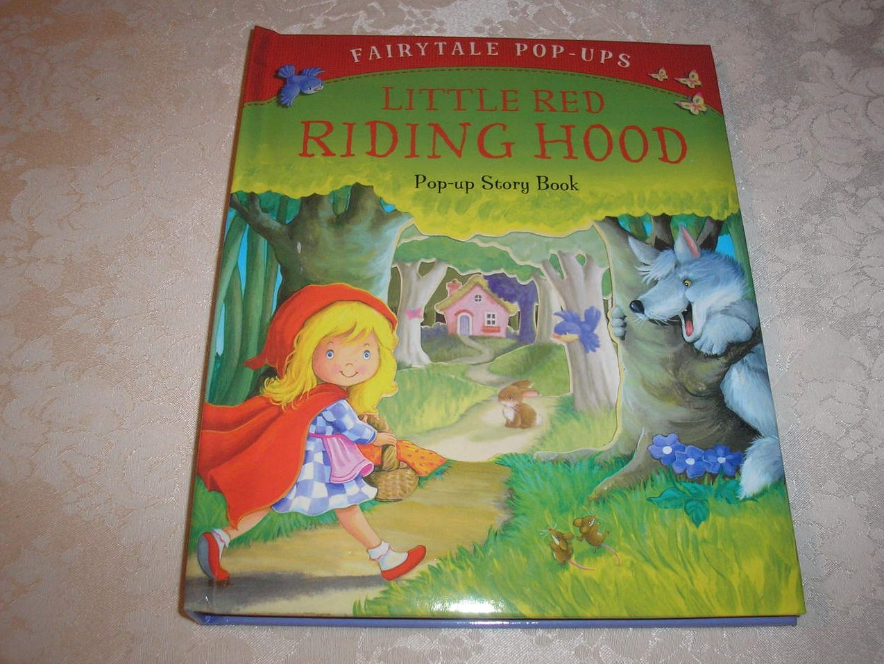 Little Red Riding Hood Fairytale Pop-Ups brand new hc