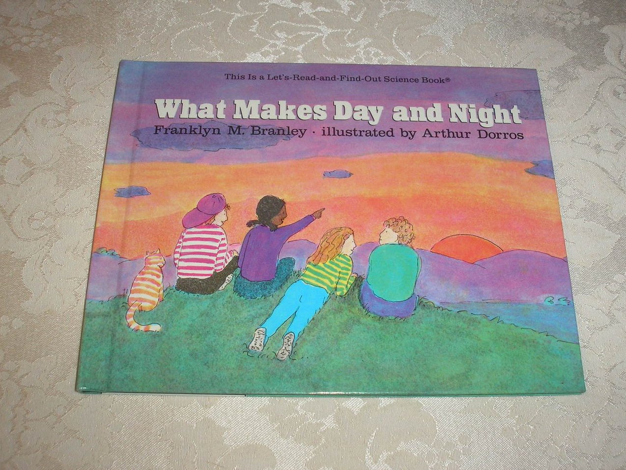 What Makes Day and Night Franklyn M. Branley very good hc