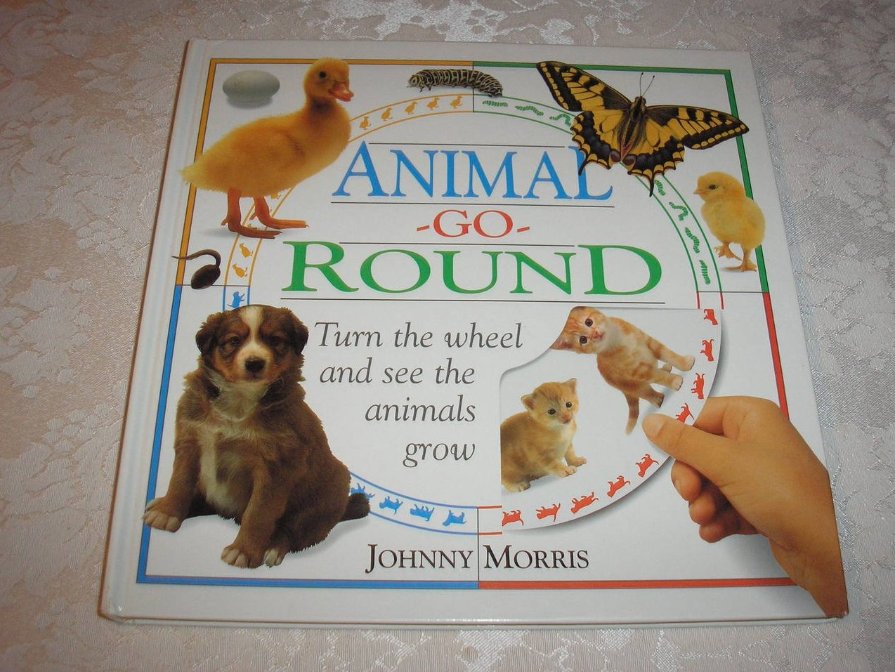 Animal Go Round Johnny Morris good clean hc