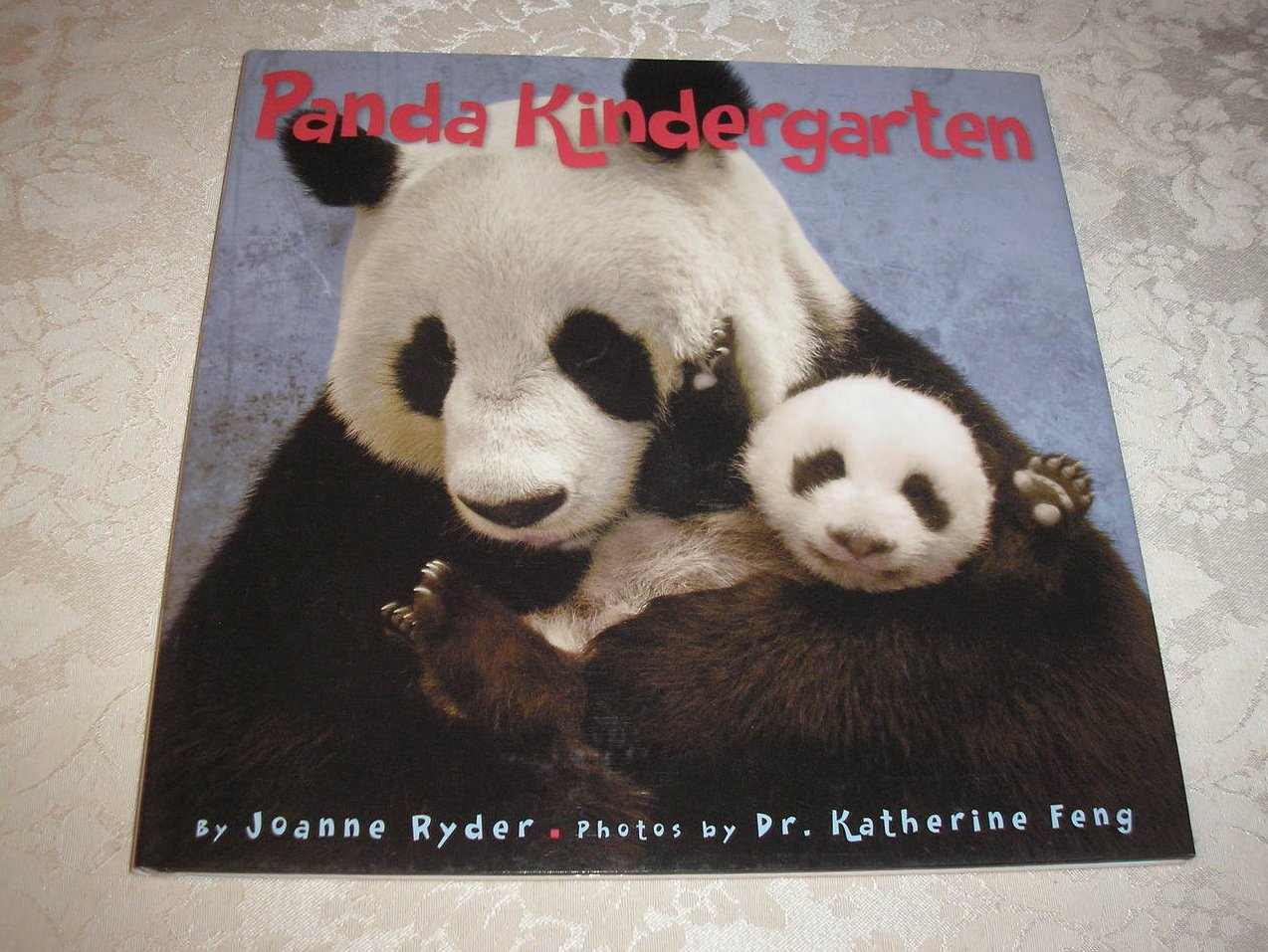Panda Kindergarten Joanne Ryder like new nonfiction hc with dj