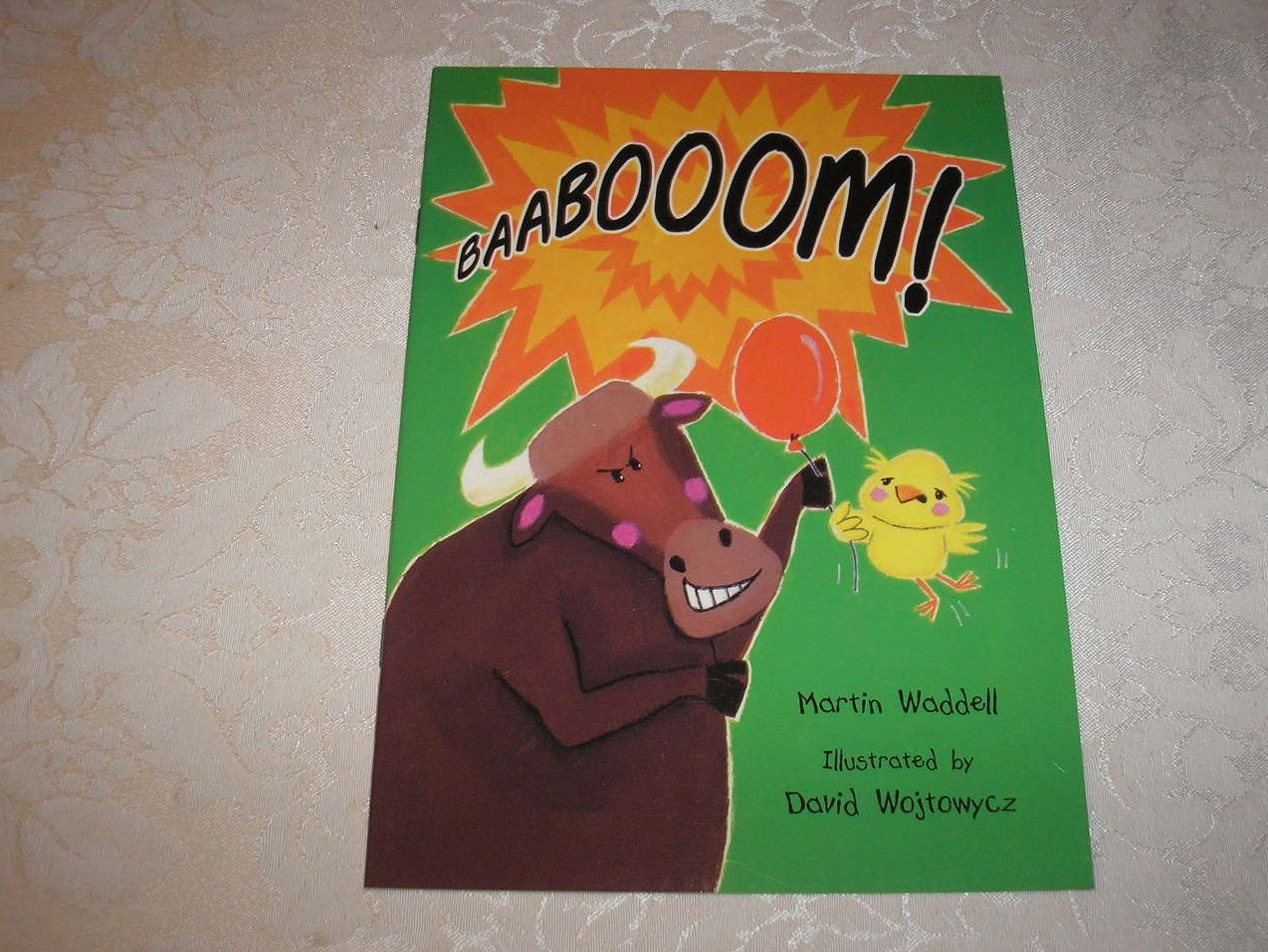Baabooom! Martin Waddell David Wojtowycz Rigby Literacy very rare sc new