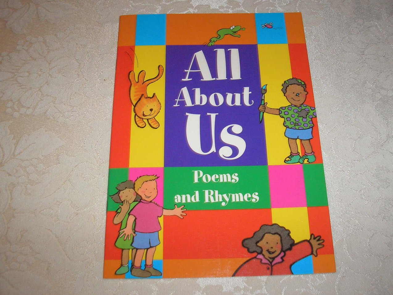 All About Us Poems and Rhymes Rigby Literacy very rare sc new