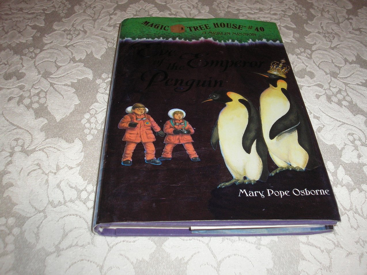 Eve of the Emperor Penguin Mary Pope Osborne Magic Tree House #40 new hc