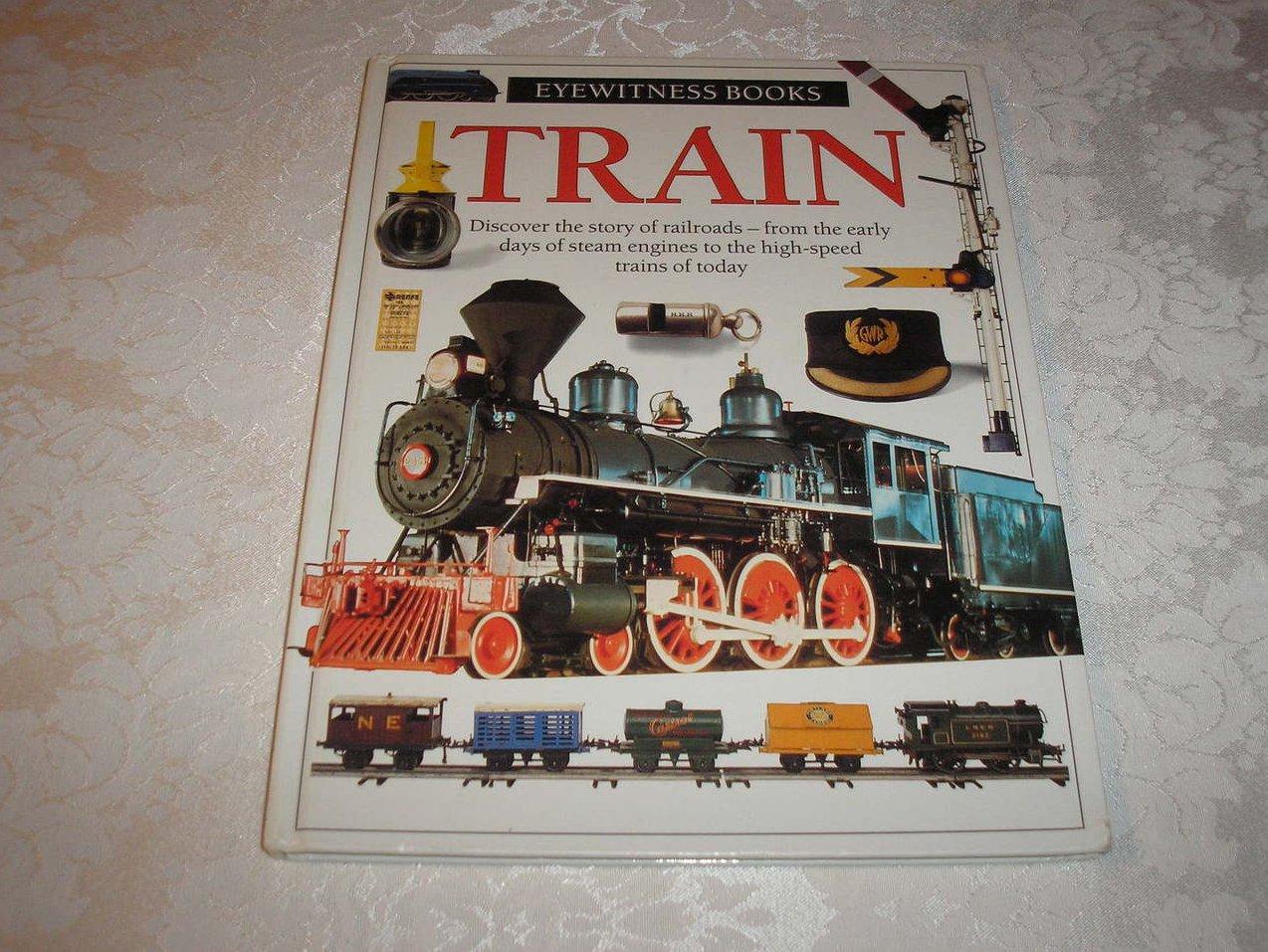 Eyewitness Books Train good hc
