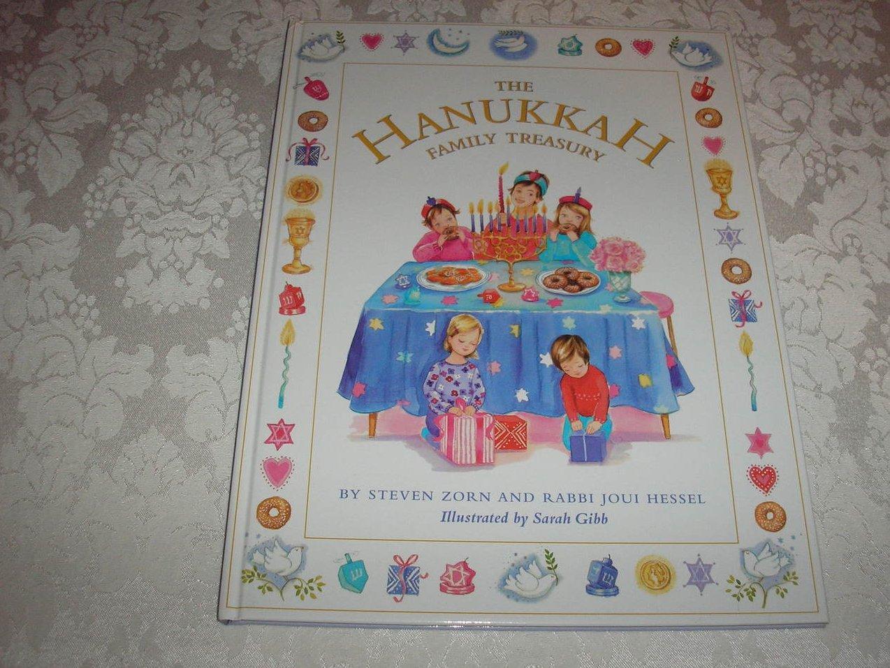 The Hanukkah Family Treasury brand new hc Steven Zorn and Rabbi Joui Hessel