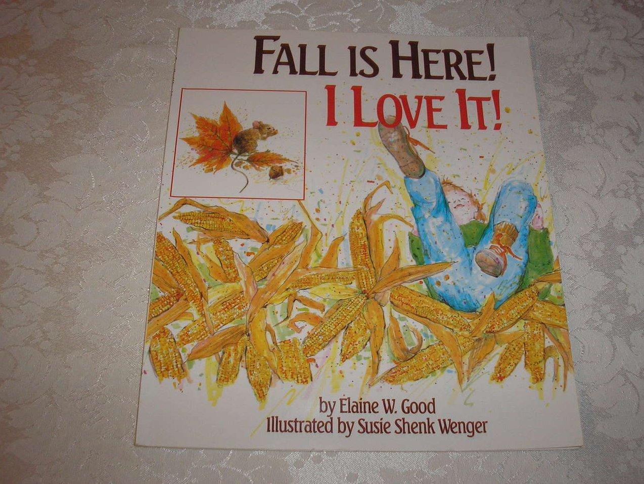 Fall Is Here! I Love It! Elaine W. Good very good sc