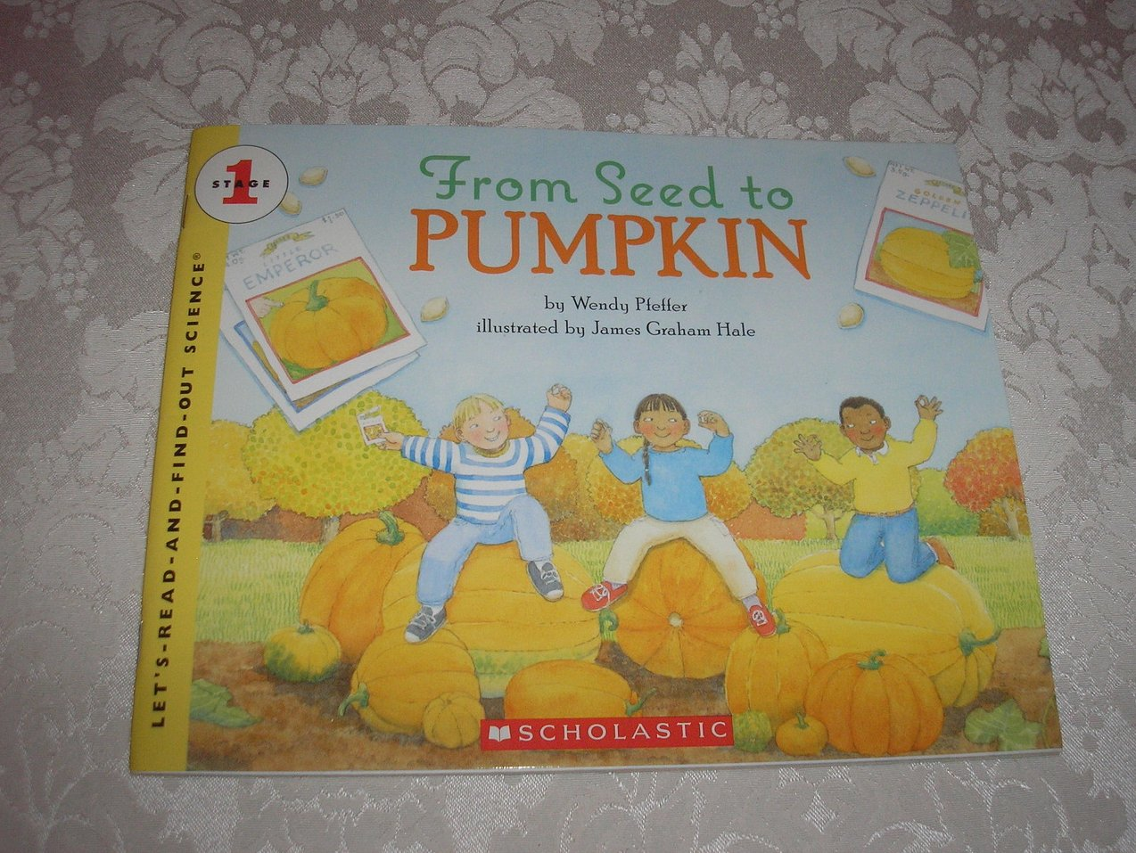 From Seed to Pumpkin Wendy Pfeffer brand new rare Science Stage 1 sc