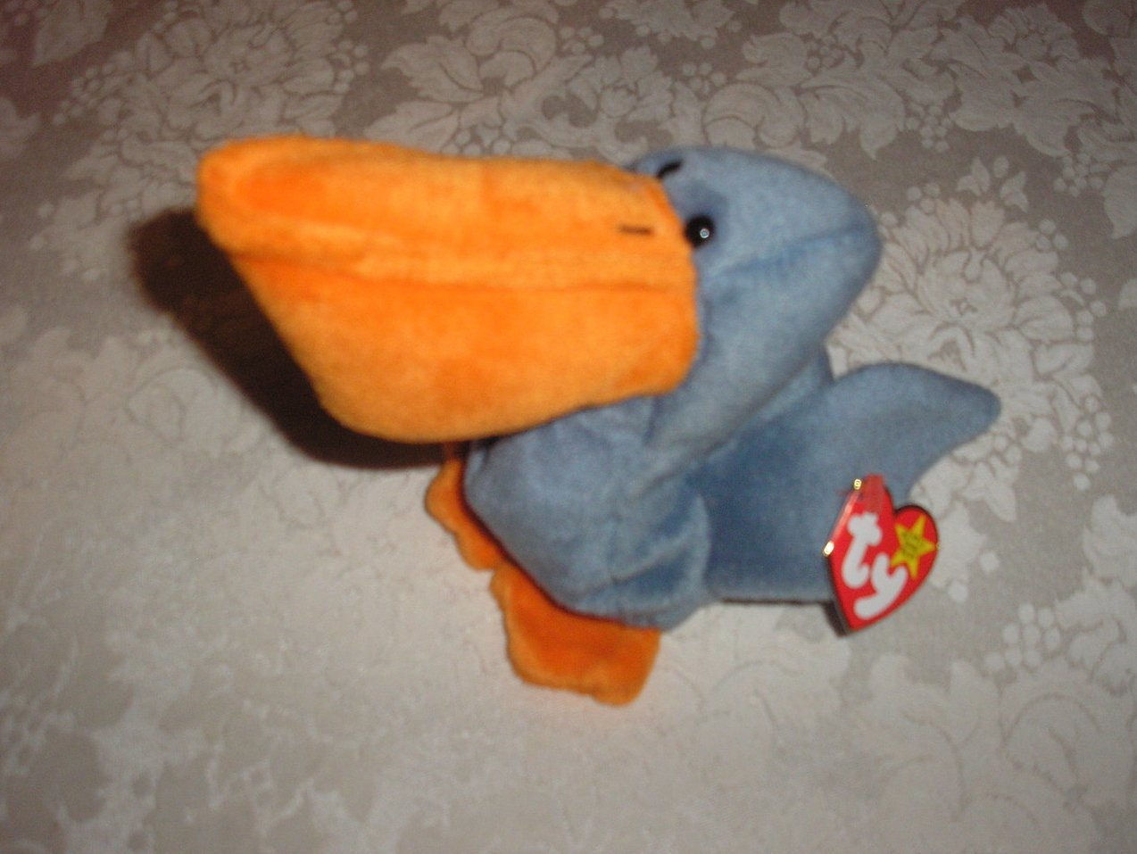 Ty Original Beanie Baby Scoop Pelican July 1, 1996
