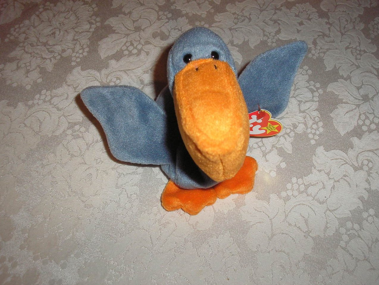 24fa9f509f7 Image 1 of Ty Original Beanie Baby Scoop Pelican July 1