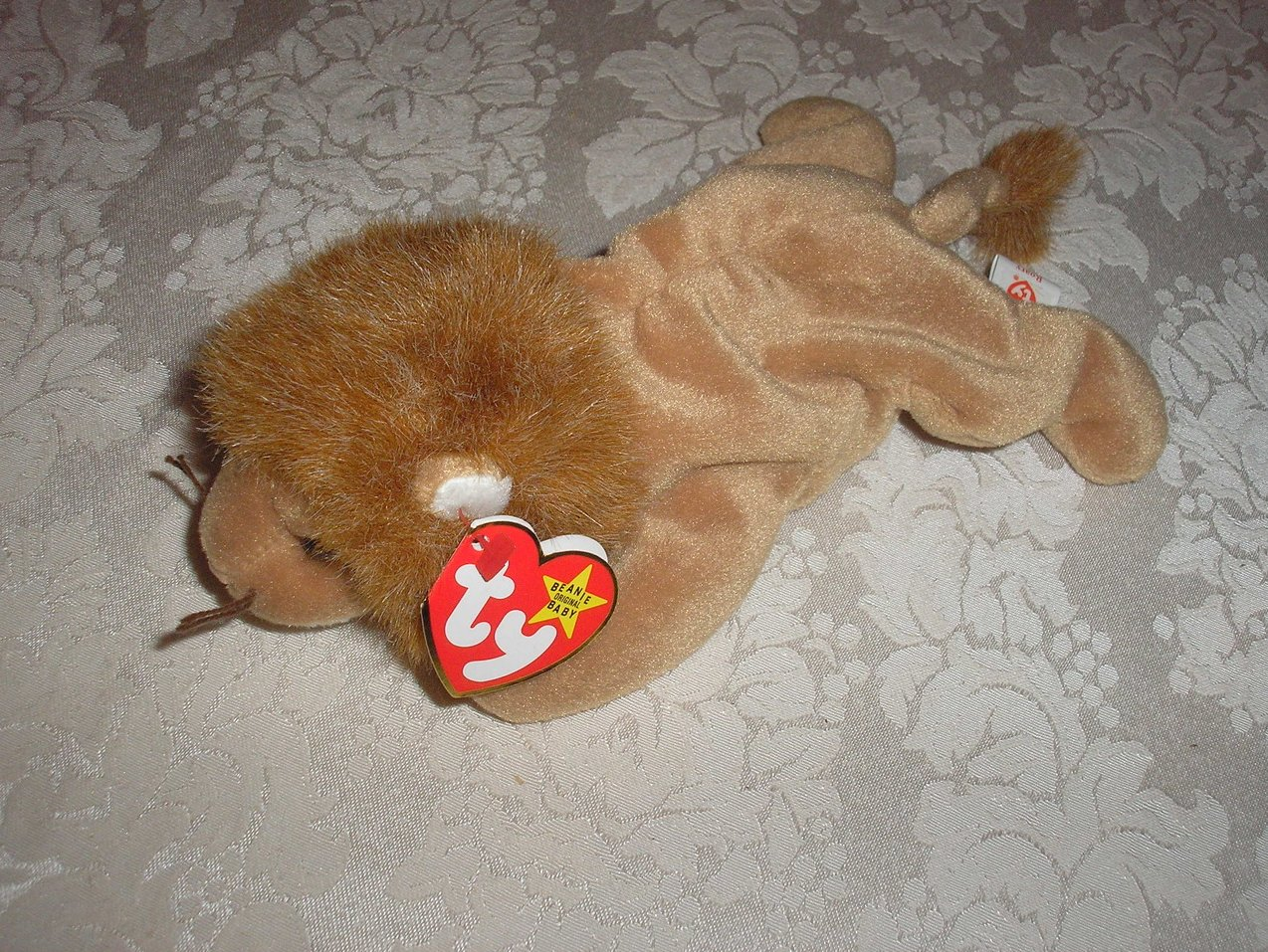 Ty Original Beanie Baby Roary Lion February 20, 1996