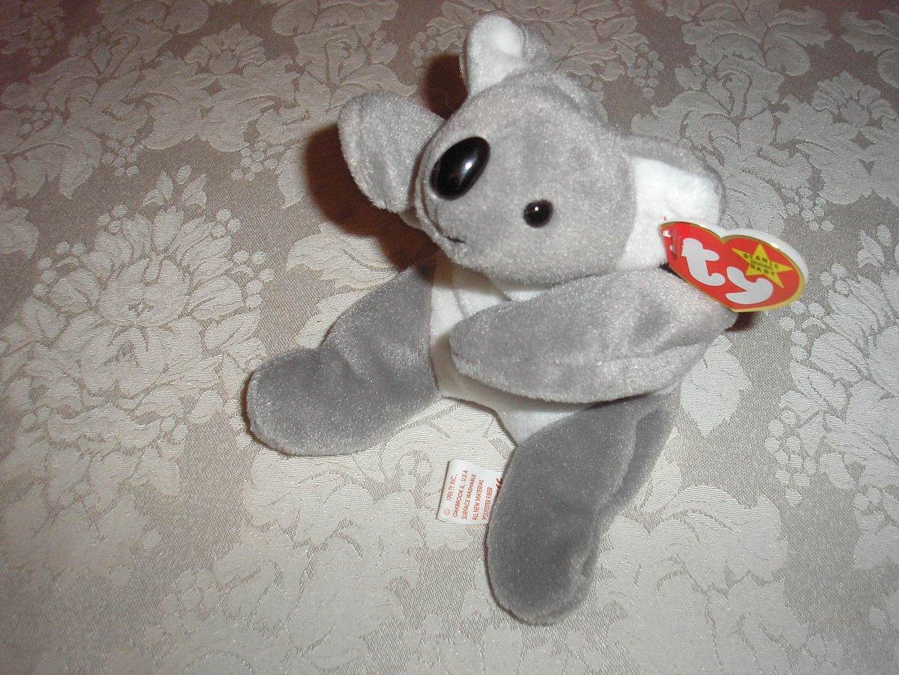 Ty Original Beanie Baby Mel Koala August 13, 1996