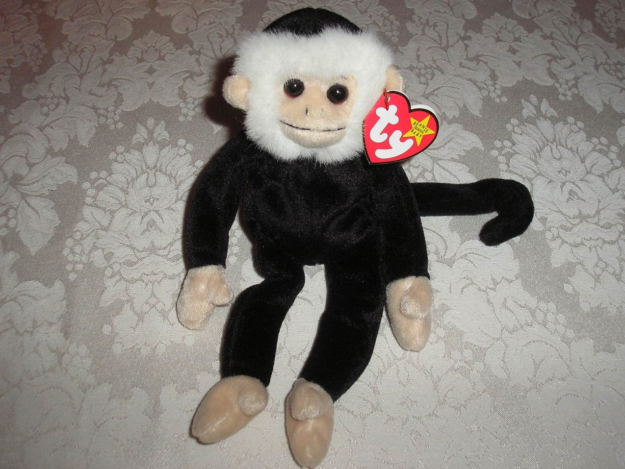 da499cd67c9 Image 0 of Ty Original Beanie Baby Mooch Monkey August 1