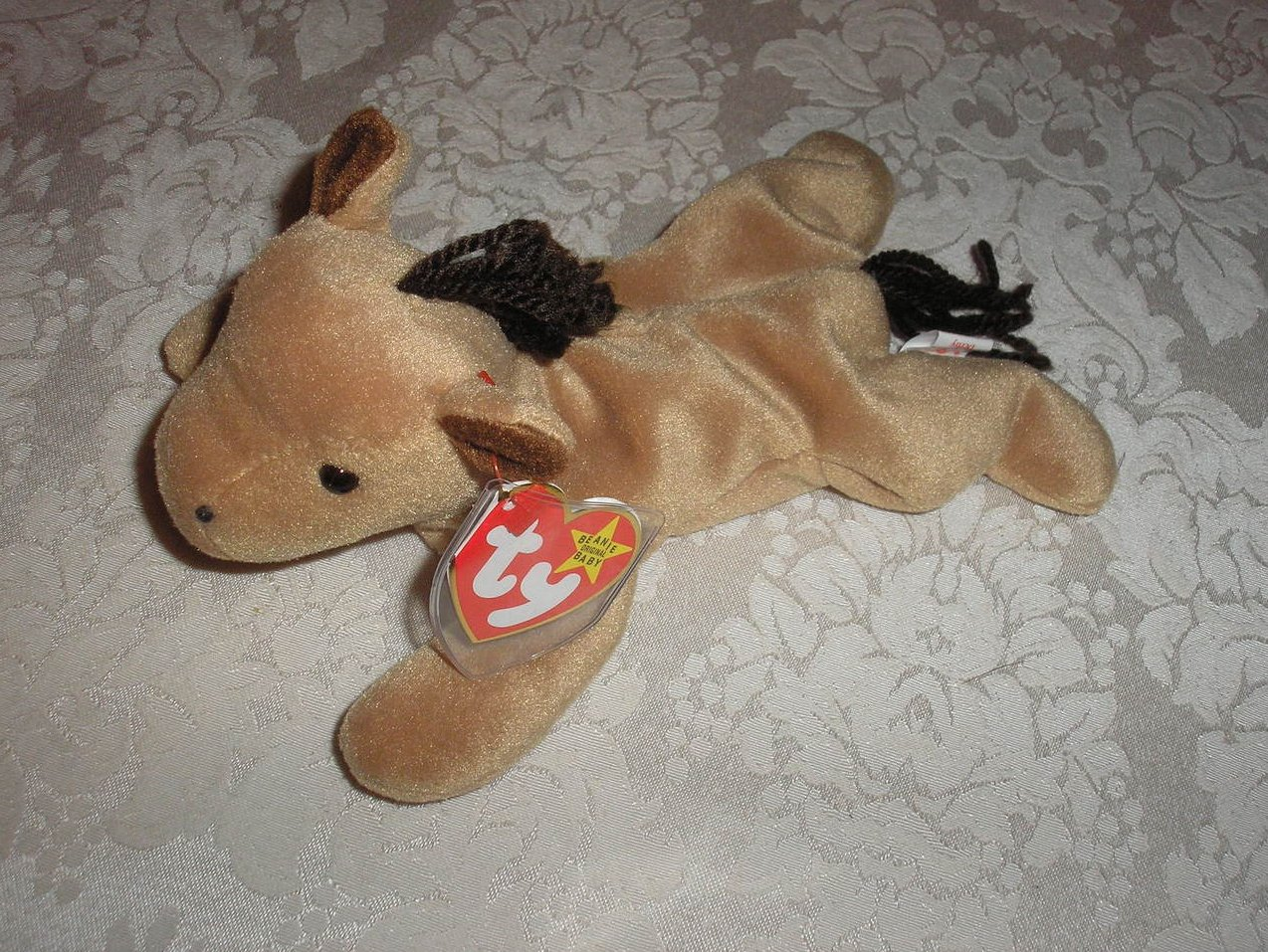 Ty Original Beanie Baby Derby Horse September 16, 1995