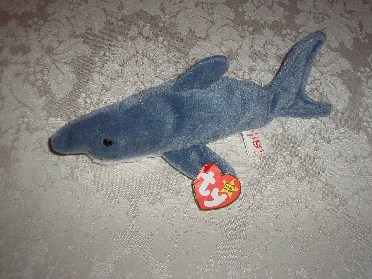 Ty Original Beanie Baby Crunch Shark January 13, 1996