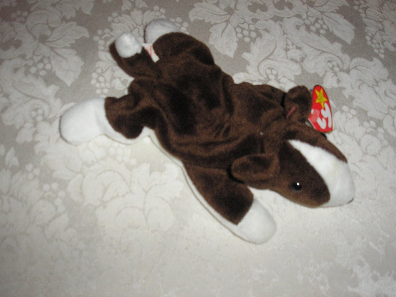Ty Original Beanie Baby Bruno Dog September 9, 1997