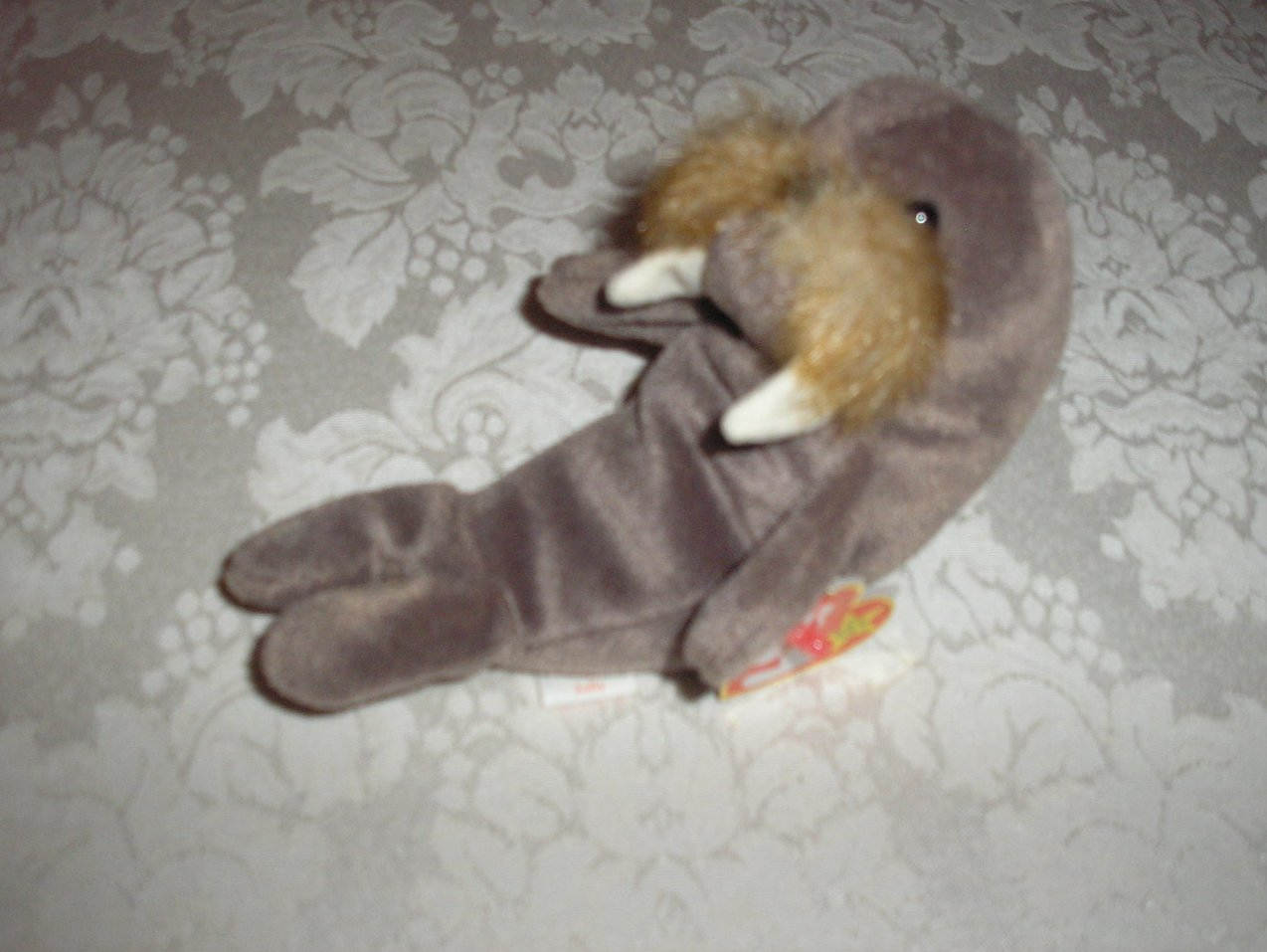 Ty Original Beanie Baby Jolly Walrus December 2, 1996