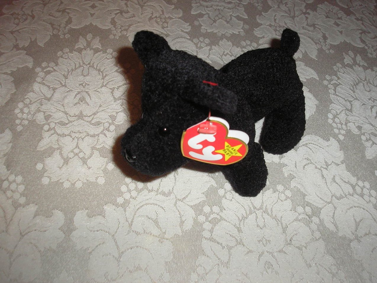 Ty Original Beanie Baby Scottie June 15, 1996