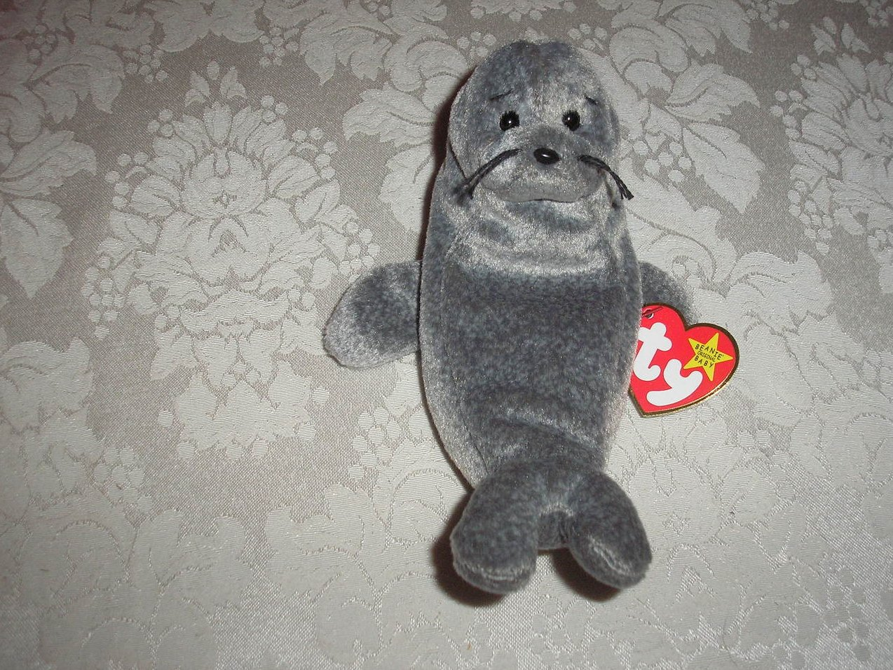 Ty Original Beanie Baby Slippery January 17, 1998