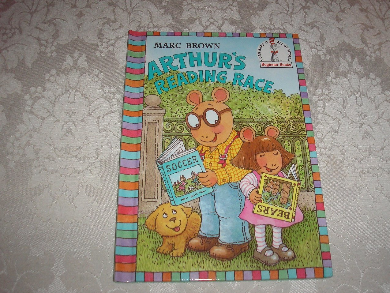 Arthur's Reading Race Marc Brown new hc