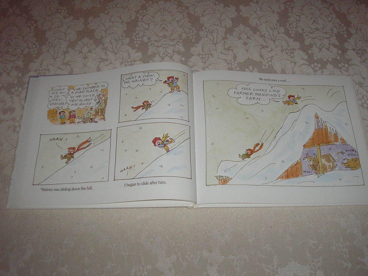 Image 1 of  BRRR! James Stevenson Very Good Hardcover