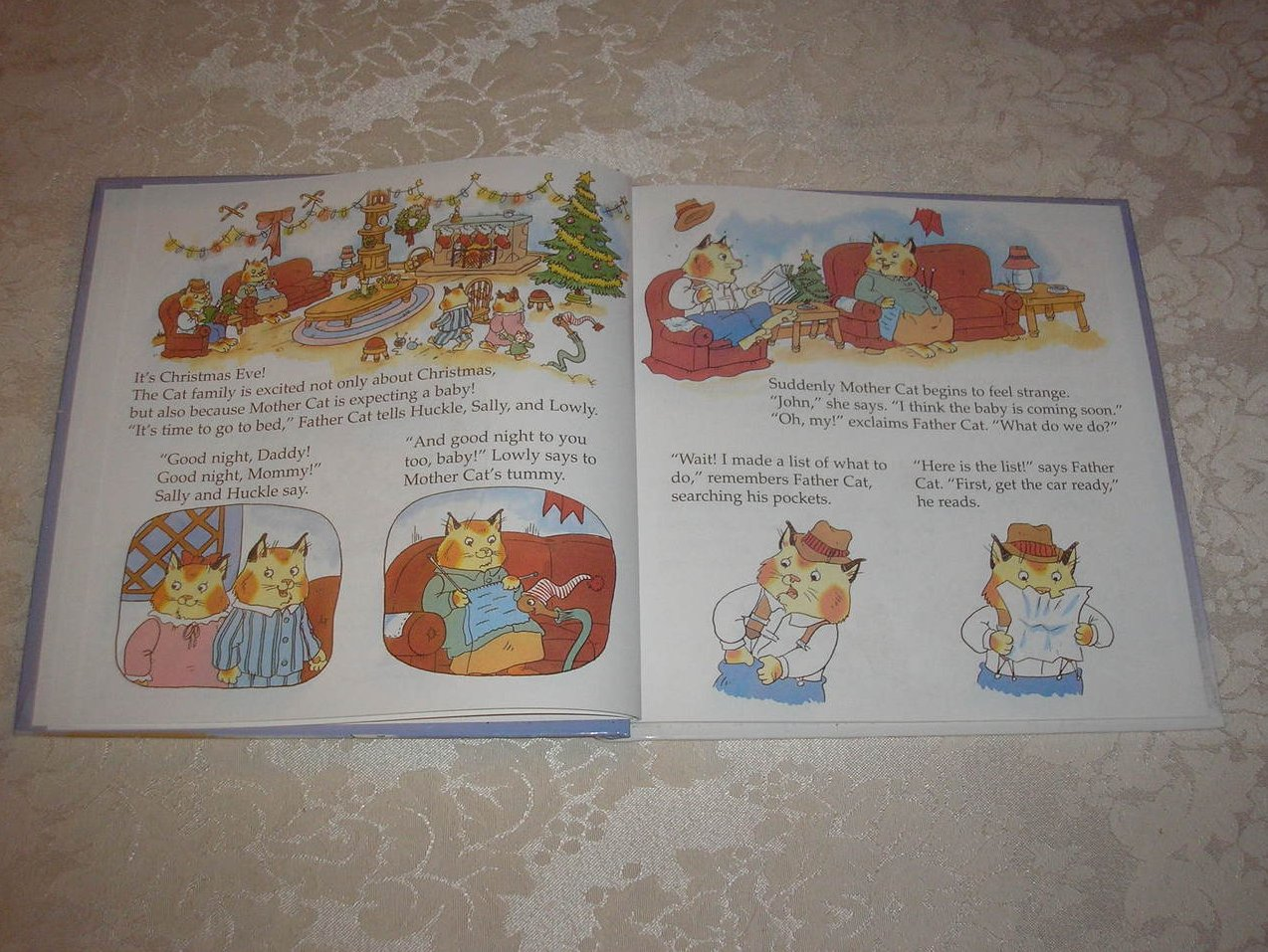 image 1 of richard scarrys the best christmas present ever very good rare hc - Best Christmas Present Ever