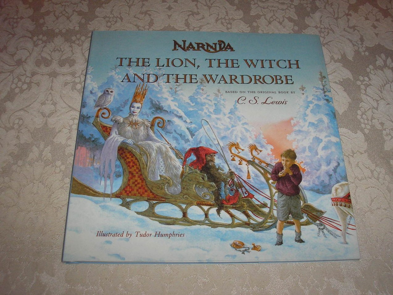an analysis of the lion the witch and the wardrobe a novel by c s lewis The first book in c s lewis's the chronicles of narnia series, the lion, the witch and the wardrobe endures more than half a century after its publicationthe novel has been adapted for television multiple times, as well as for the stage and film.