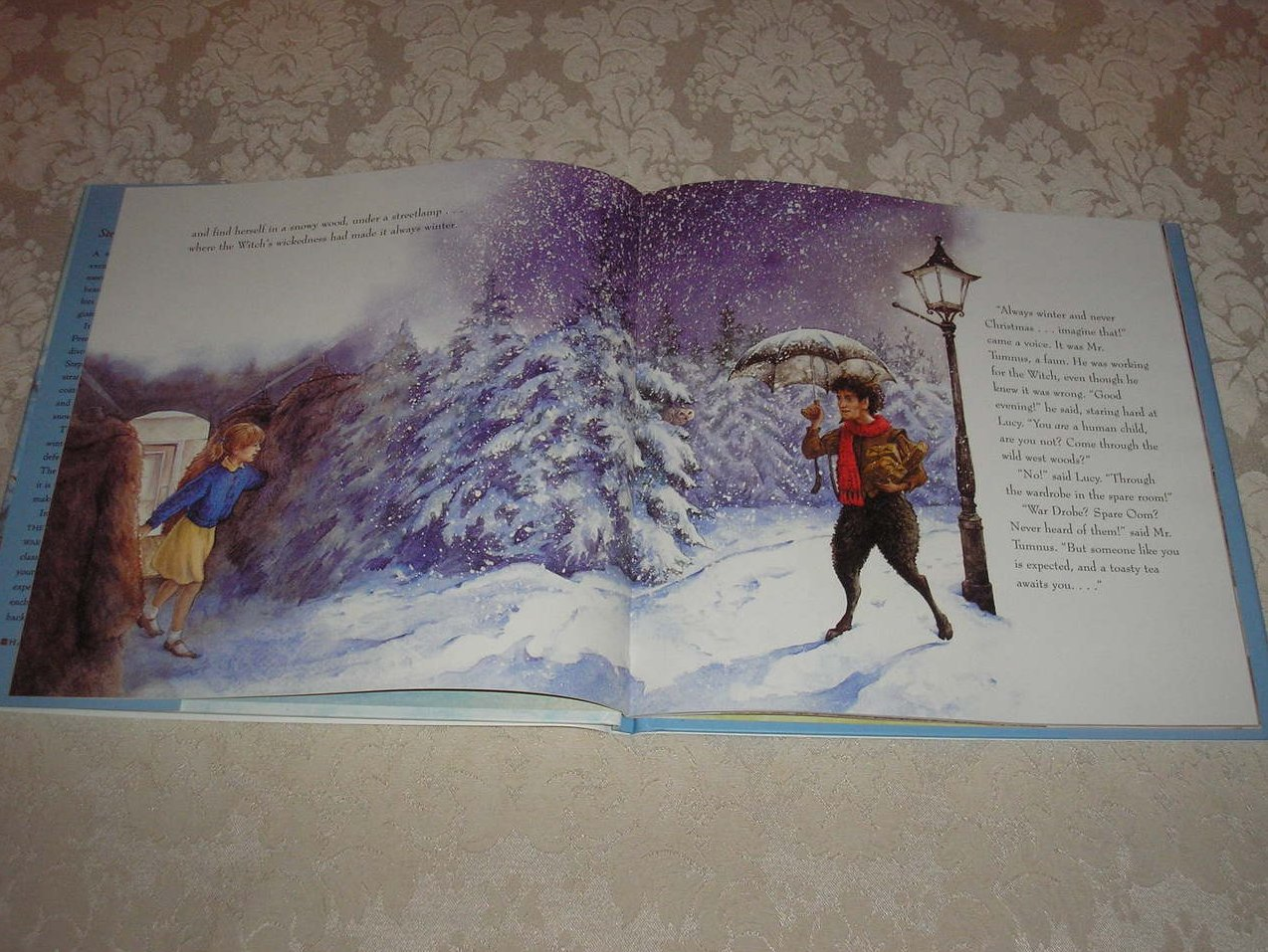 The Lion, The Witch And The Wardrobe C.S. Lewis Tudor Humphries new hc ...