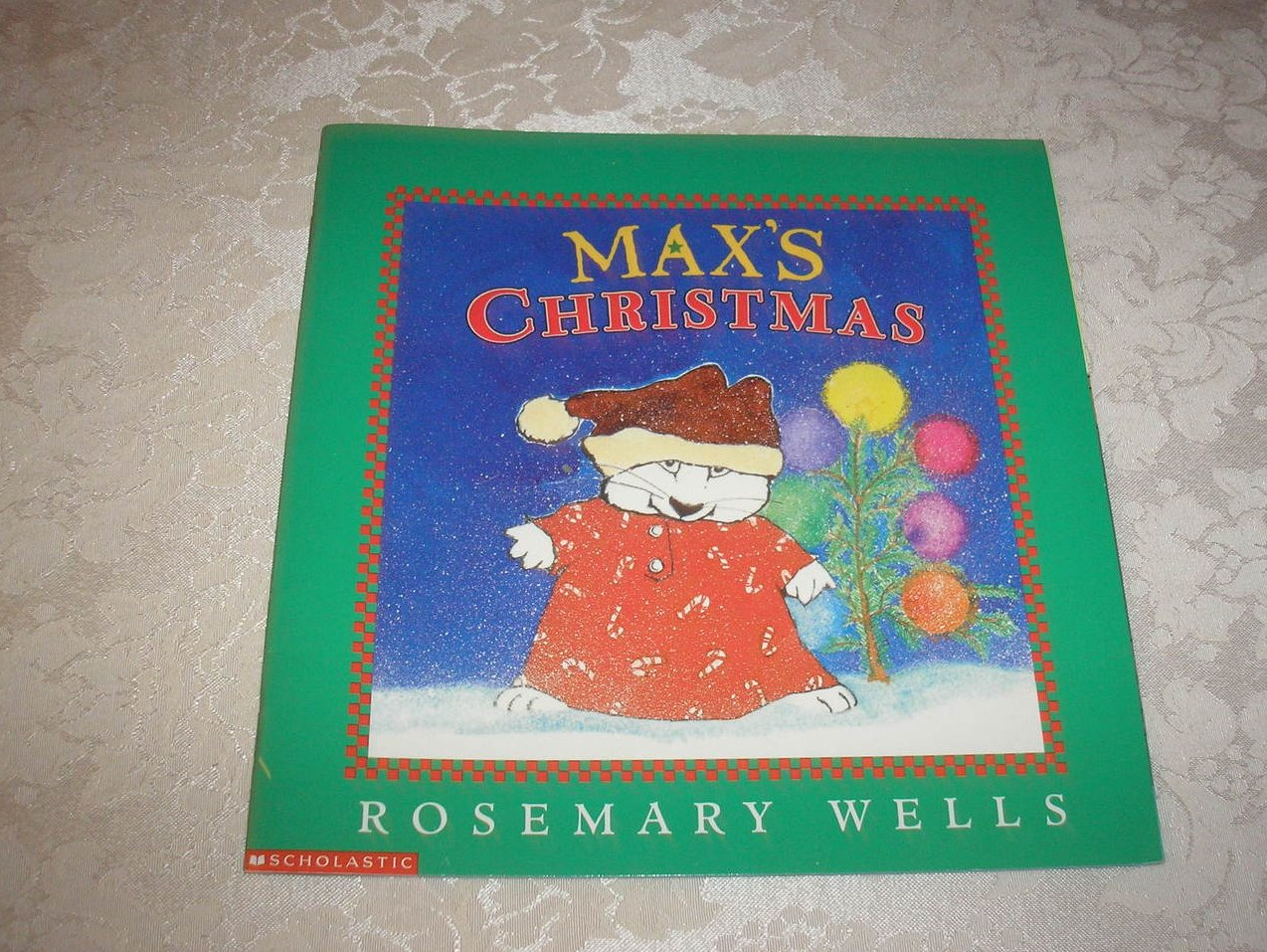 Max's Christmas Rosemary Wells very good sc
