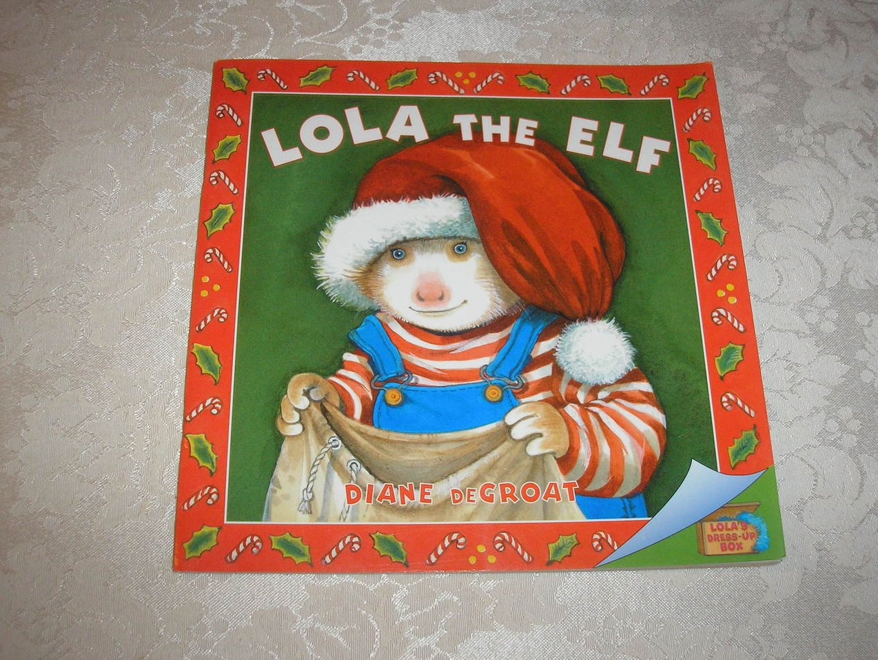 Lola The Elf Diane DeGroat good used lift the flap sc