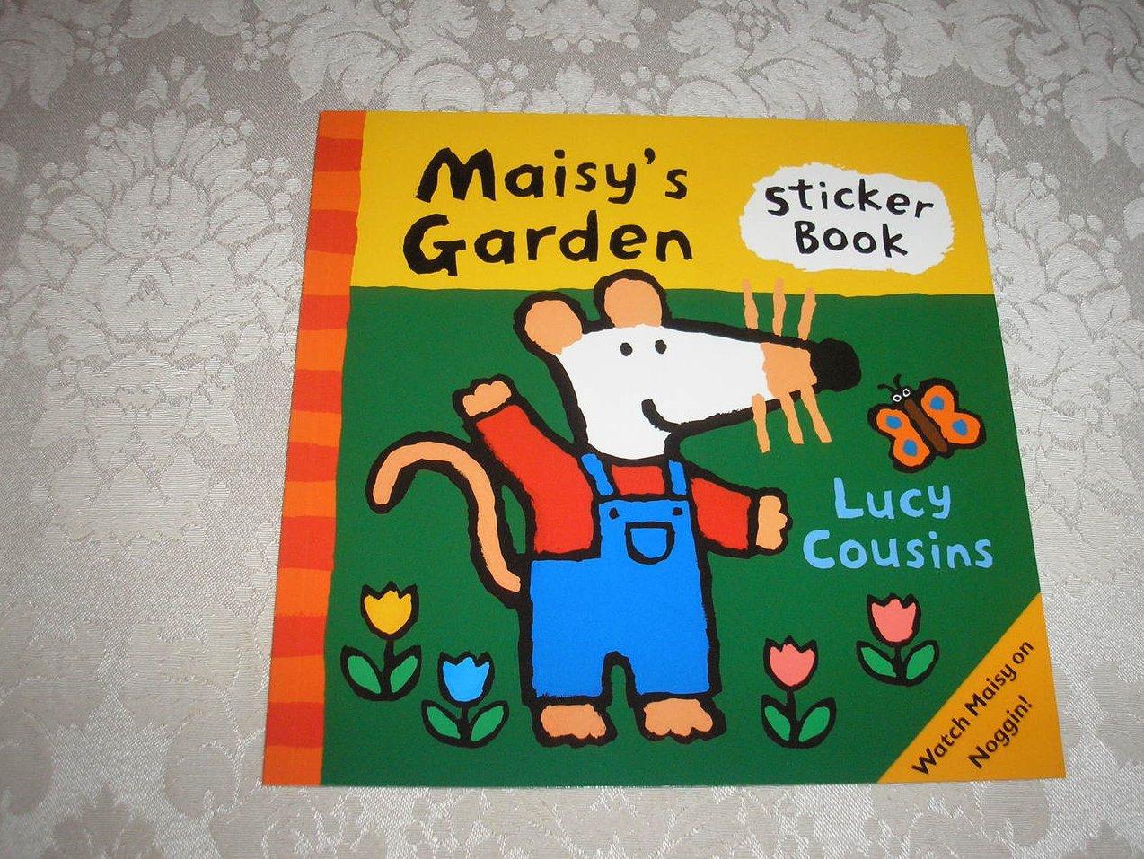 Maisy's Garden Sticker Book Lucy Cousins brand new