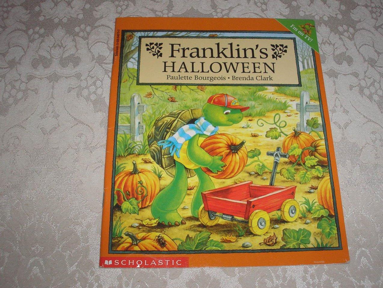 Franklin's Halloween Paulette Bourgeois Brenda Clark good used sc