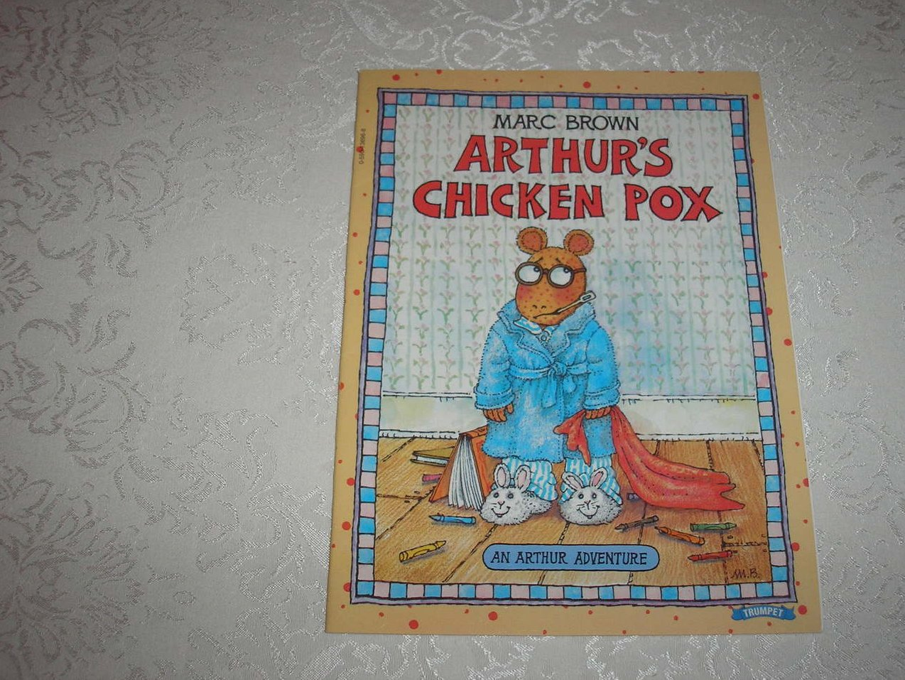 Arthur's Chicken Pox Marc Brown very good sc