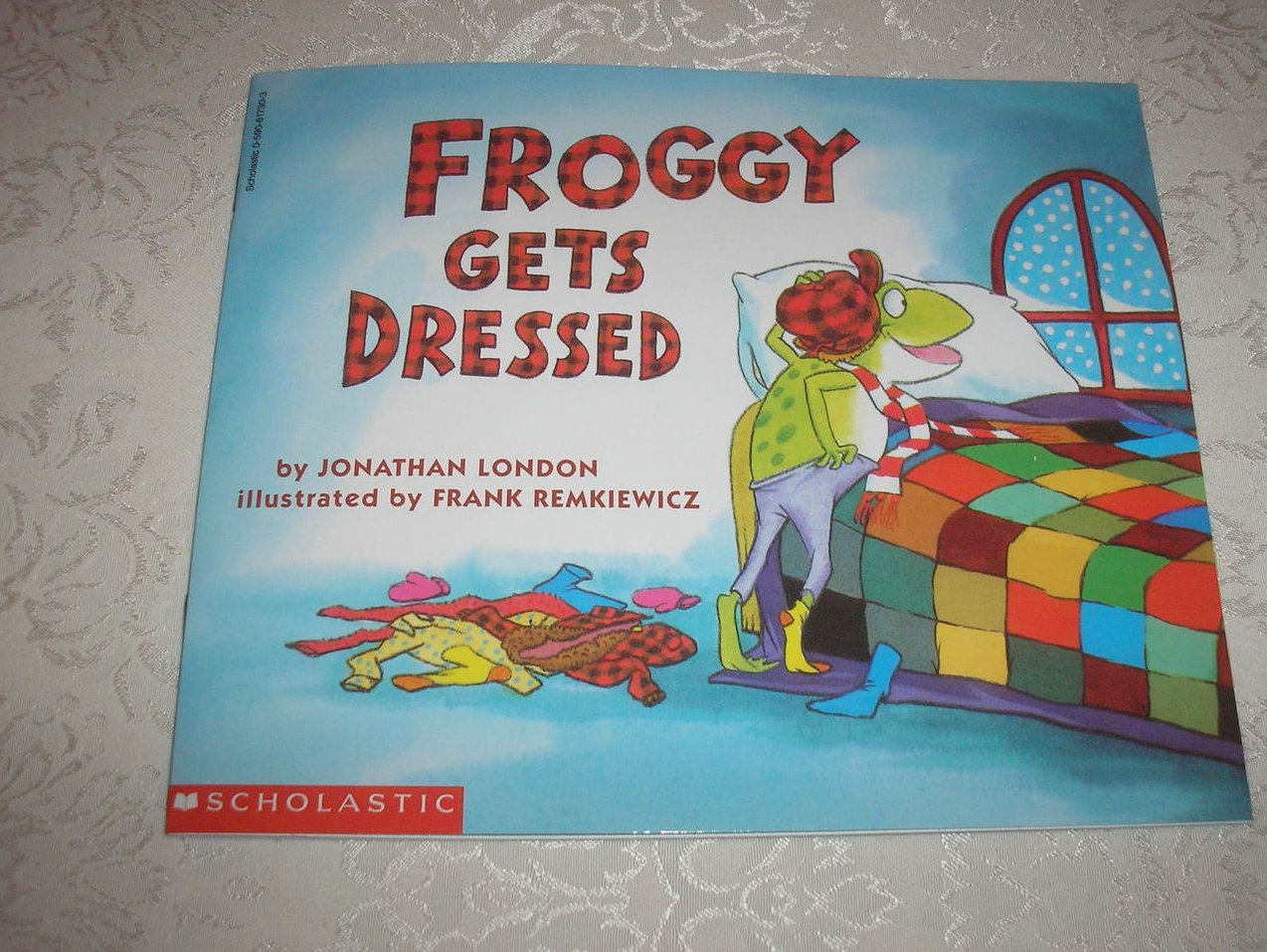 Image 0 of Froggy Gets Dressed Jonathan London Brand New Softcover