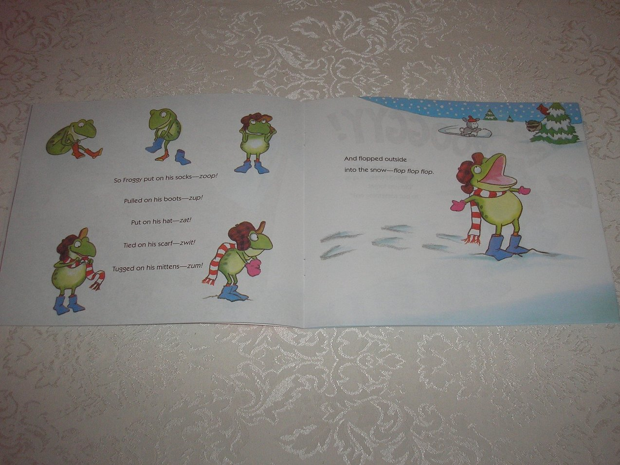 Image 1 of Froggy Gets Dressed Jonathan London Brand New Softcover