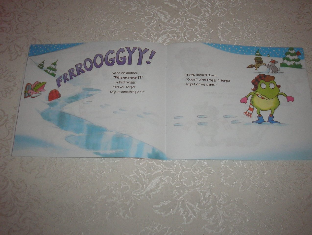 Image 2 of Froggy Gets Dressed Jonathan London Brand New Softcover