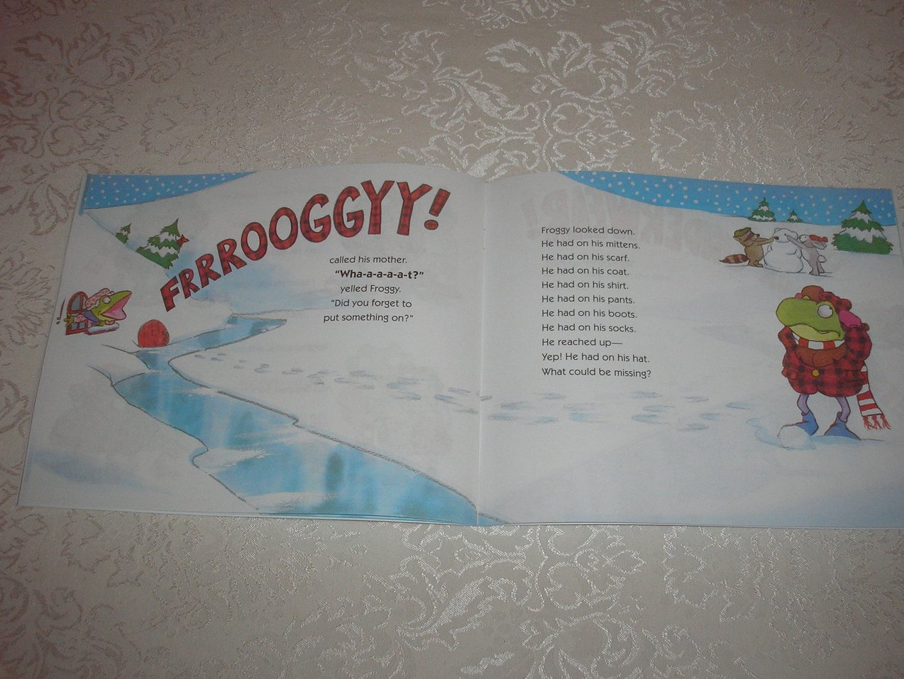 Image 3 of Froggy Gets Dressed Jonathan London Brand New Softcover