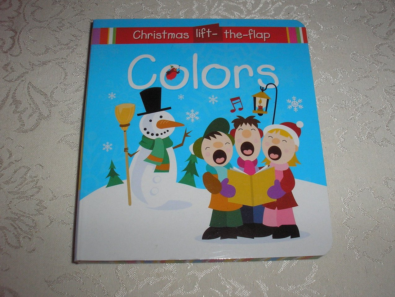 Colors Christmas Lift-the-Flap brand new board book