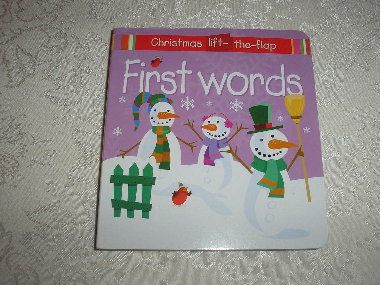 First Words Christmas Lift-the-Flap brand new board book