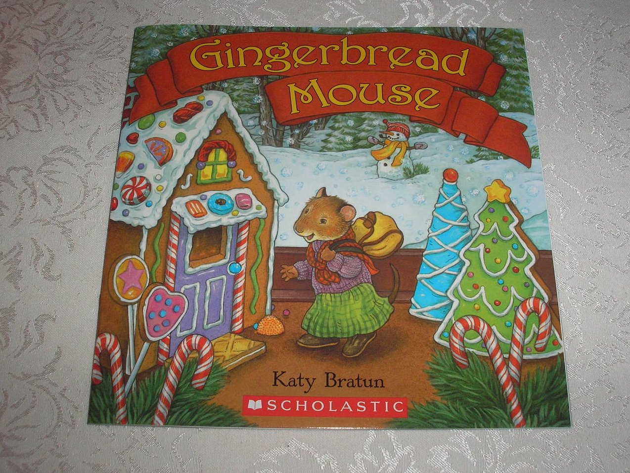 Gingerbread Mouse Katy Bratun brand new sc