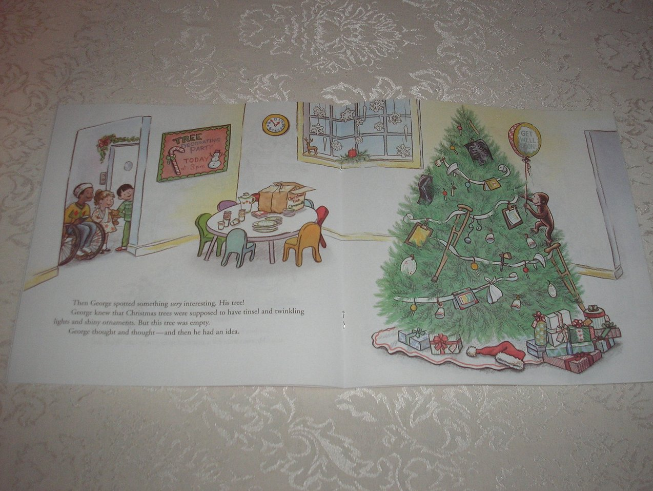 Image 1 of Merry Christmas, Curious George Margret and H. A. Rey Brand New Softcover