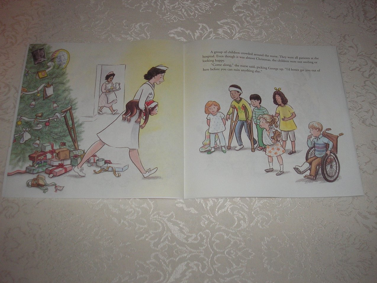 Image 3 of Merry Christmas, Curious George Margret and H. A. Rey Brand New Softcover