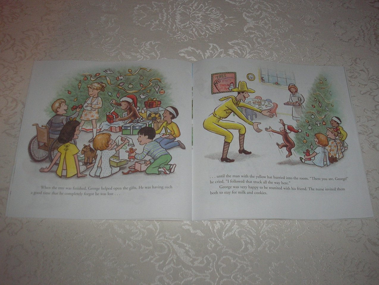 Image 4 of Merry Christmas, Curious George Margret and H. A. Rey Brand New Softcover