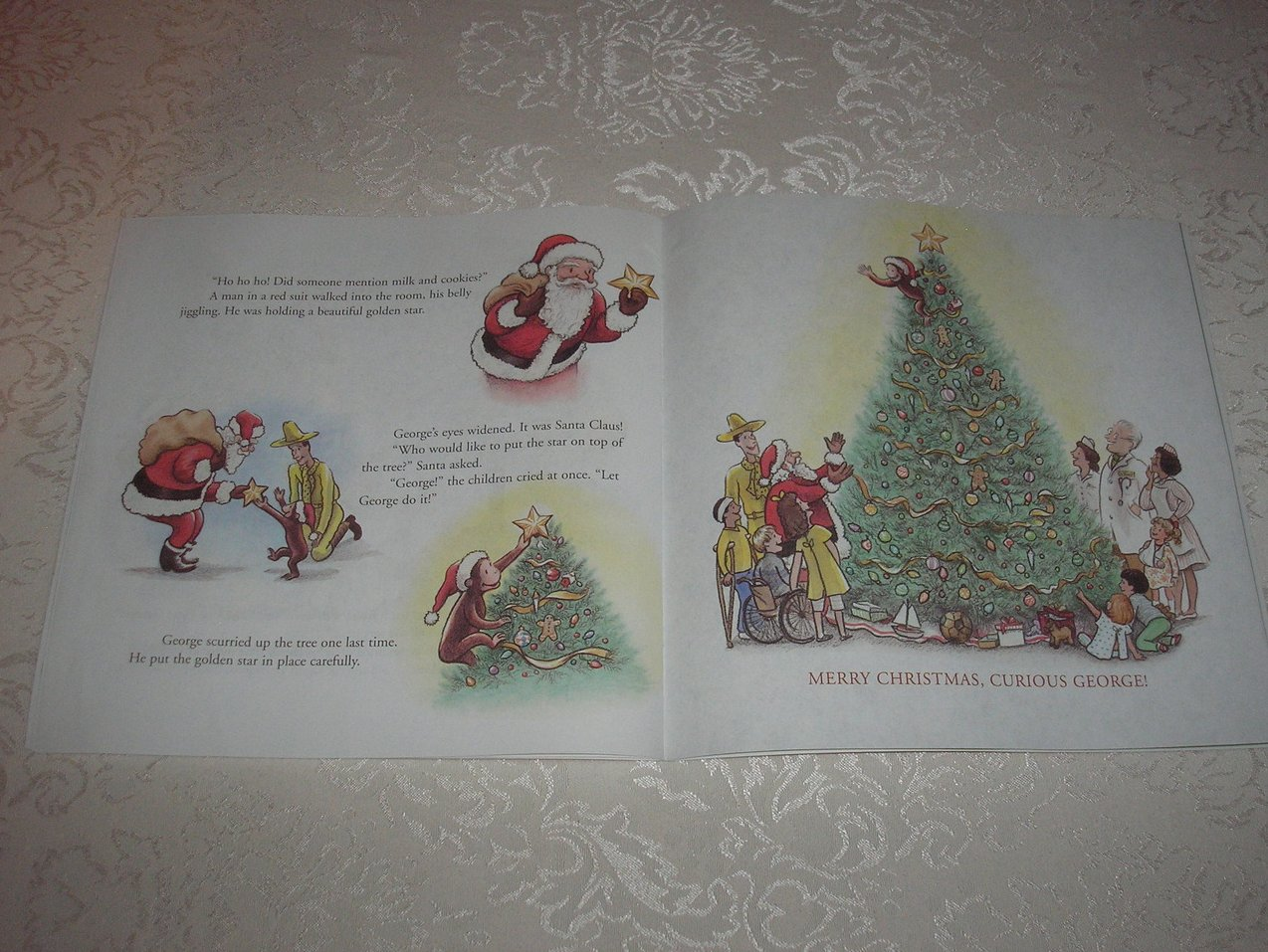 Image 5 of Merry Christmas, Curious George Margret and H. A. Rey Brand New Softcover